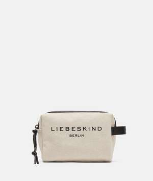 Gray Cosmetic Pouch S Pale Moon