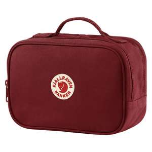 Kanken Toiletry Bag Ox Red