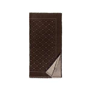 Tuch Carré java brown