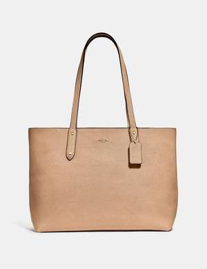 Central Tote beechwood gold