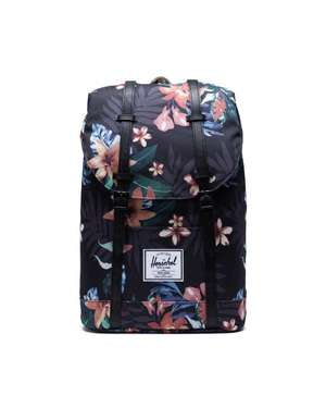 Retreat Nylonrucksack summer floral black