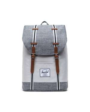Retreat Nylonrucksack raven crosshatch vapor