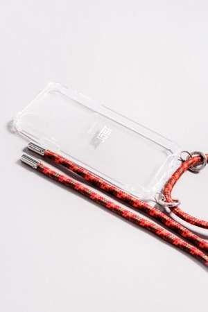 iPhone Necklace Halsband rot