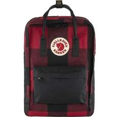Kanken Re-Wool 15'' Laptoprucksack Red-Black