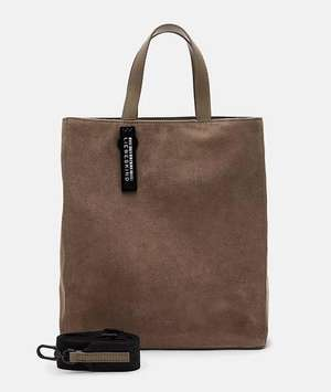 Paper Bag Tote M light cement