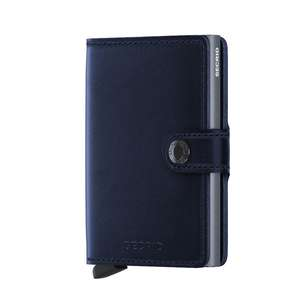 Miniwallet Navy Polished