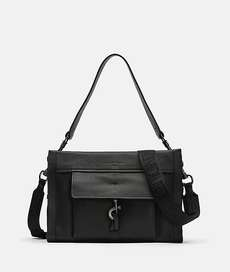 Georgia Satchel M Black