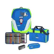 Sunny II Safety Light Schulranzen Set 5-teilig Blue Space
