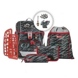 2in1 Plus Schulrucksack-Set 6tlg. fire dragon